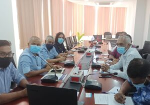 MOPA meeting with Male City Council