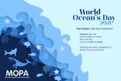 Oceans Day greetinggs 2021