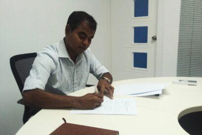 Dh. Kudahuvadhoo MOU Signing
